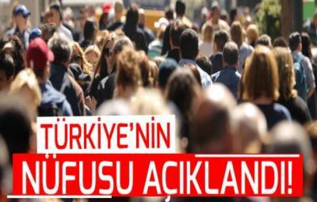 Türkiye'nin Nüfusu 82 Milyonunu Geçti
