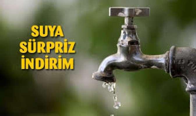 Başkent Ankara'da Suya İndirim