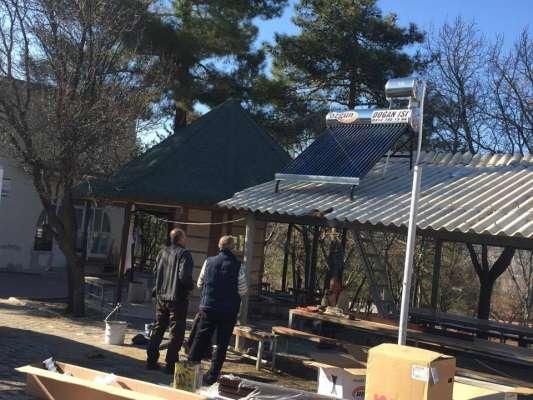 Camimiz Şadırvanına Güneş Enerjisi Takıldı