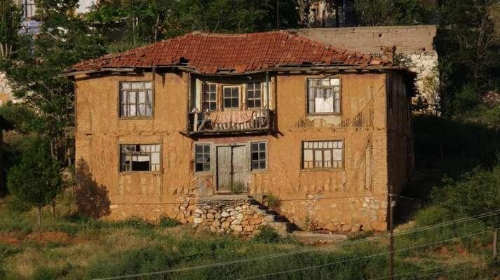 Sarıyar Kasabası - Kaderine Terkedilen Doğanın Tabiat Parkı Ve Yıkılan Kültür Sarıyar Evleri - Nallıhan - Ankara