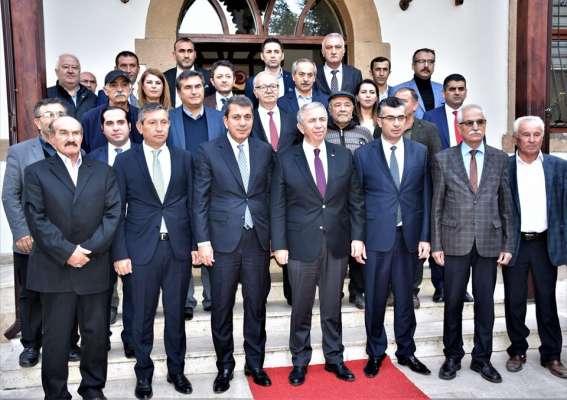 Ankara Büyükşehir Belediye Başkanı Mansur Yavaş İlçemiz Nallıhan Belediye Başkanlığında