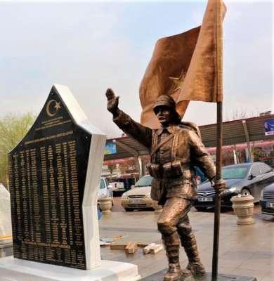 Çanakkale Savaşları ve Nallıhan'lı Şehitlerimiz Anıtı