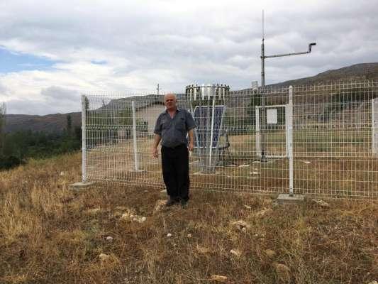 Sarıyar'ımıza Meteoroloji Gözlem İstasyonu Kuruldu.
